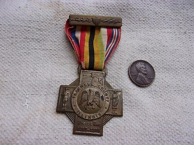 WW1 Tazewell County, Illinois Service Medal--1919