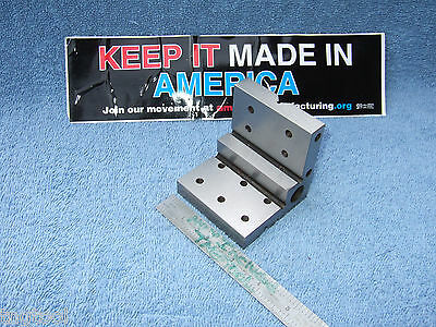 Watchmaker Angle Plate Step 3 Inch Machinist Toolmaker Hardened Grind Fixture
