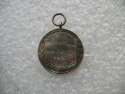 WW II U.S. Military Soldiers Named Trench Art Dog Tag Co.C 377 Inf.