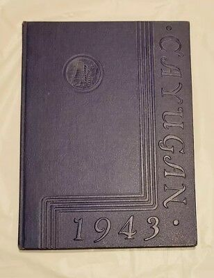 1943 Lancaster Ny High School  Yearbook The Cayugan