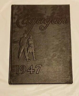 1947 Lancaster Ny High School  Yearbook The Cayugan