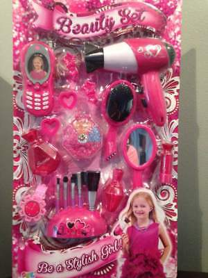 Toys for Girls 3 4 5 6 7 8 9 10 11 Years Old Age 18 Piece Beauty Set Cute Gift