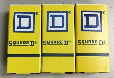 Square D B4.15 Overload Relay Thermal Unit Lot Of 3!