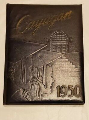 1950 Lancaster Ny High School  Yearbook The Cayugan
