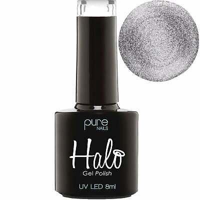 Pure Nails - LED/UV Halo Gel Polish Collection - Platinum 8ml (N2826)
