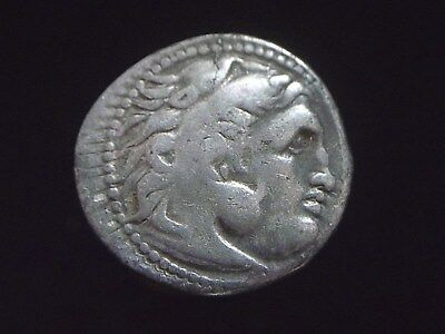 Greek Silver Drachm of Alexander III The Great, 336-323 BC,  CC9957