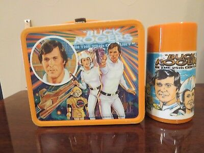 **GOOD** Vintage 1979 BUCK ROGERS LUNCH BOX & THERMOS