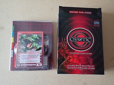 Chaotic Trading Card Game Underwold Dawn of Perim Starter Deck