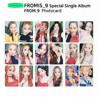 FROMIS 9 - Special Single Album FROM.9 Official Photocard - Member Set