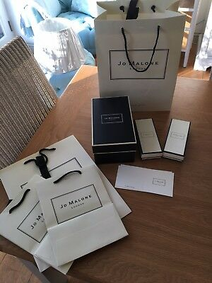 Jo Malone boxes and Gift bags