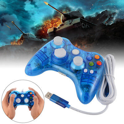 Wireless/Wired Gamepad Controller for Xbox 360/Windows XP/Vista/7/8/10 PC Laptop