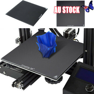 AU STOCK Creality 3D Printer Ender 3 235X235mm Borosilicate Glass Heat Bed Plate