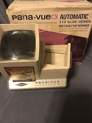 Vintage Pana-Vue By View Master Automatic Slide Viewer Untested