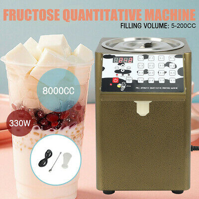 8000CC Bubble Tea Equipment Fructose Quantitative Machine Fructose Dispenser330W