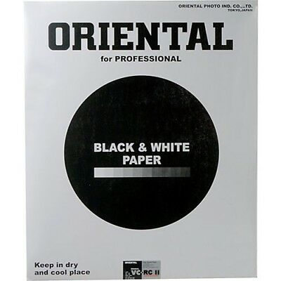 Oriental Seagull VC-RCII B&W Resin Coated Paper (11x14in, Pearl, 50 Sheets)