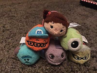 Monsters Inc Tsum Tsums From Uk Disney Store With Tags
