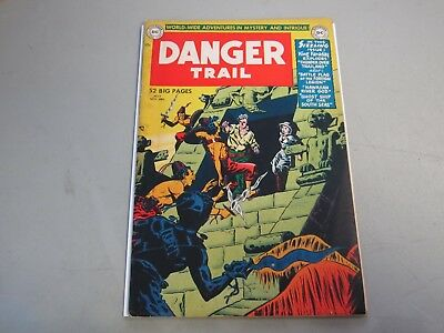 Danger Trail #3 COMIC BOOK 1950  Extremely RARE