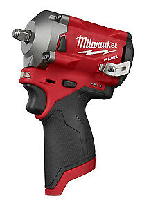 "Milwaukee Electric Tool 2554-20 M12 Fuel Stubby 3/8"" Impact Wrench -Bare Tool"