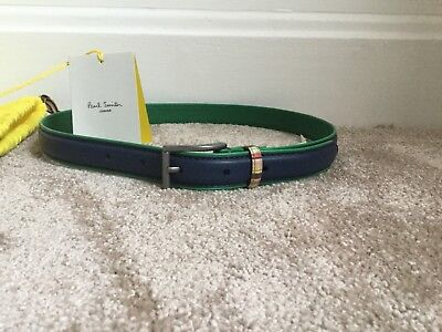 Brand New Girls' Leather Belt by Paul Smith Junior - Age 8-12