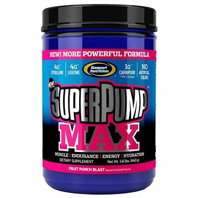 Gaspari Nutrition Superpump Max 480/ 640g Huge Pump Best Online Price