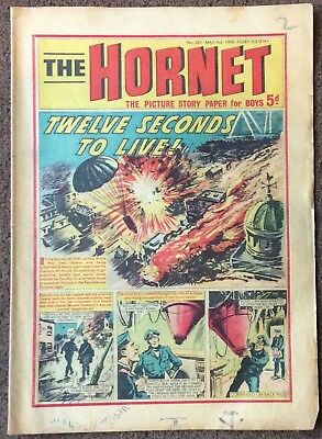 VINTAGE THE HORNET COMIC MAY 3rd,  1969, No 295.