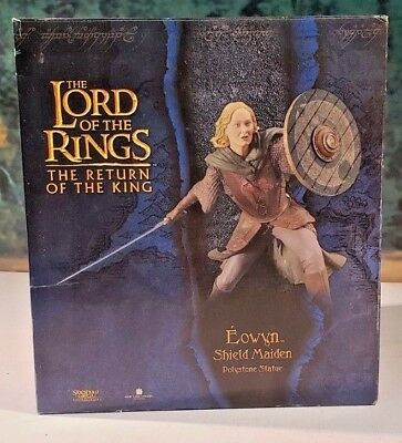 SIDESHOW COLLECTABLES / WETA Lord Of The Rings Eowyn Shield Maiden Statue #557