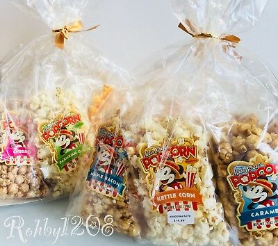 Disney Parks Disneyland Resort Authentic Main Street Popcorn Maple Bacon Churro
