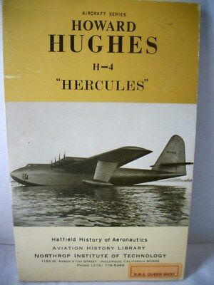 "Vintage Aircraft Series Northrop ""Howard Hughes H-4 ""Hercules""  From the Queen M"