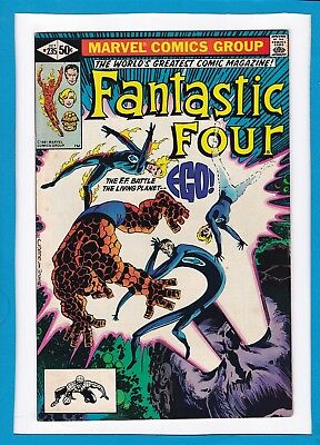 "Fantastic Four #235_October 1981_Vf Minus_""ego...the Living Planet""_Bronze Age!"