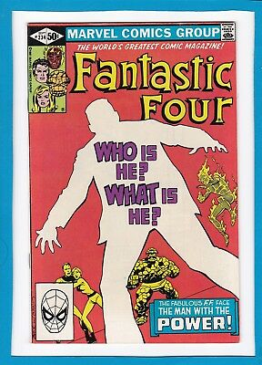 "Fantastic Four #234_September 1981_Vf/nm_""the Man With The Power""_Bronze Age!"