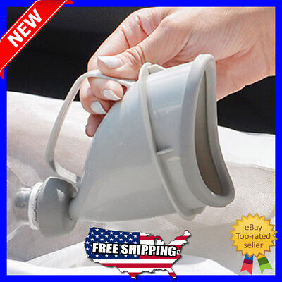 Portable Car Travel Outdoor Peeing Toilet Urinals for Man Woman Potty Funnel NEW
