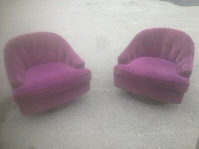 Selig By Simmons Swivel Tub Chairs