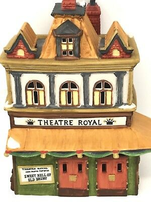 Dept 56 Theatre Royal #55840 Heritage Village Collection Dickens Village