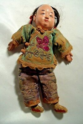 Antique Chinese Composition Doll C