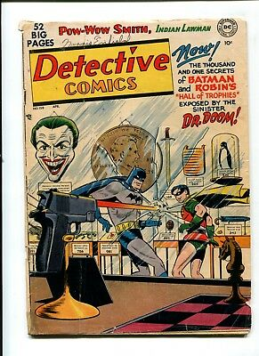 Detective Comics #158 VINTAGE Batman DC Comic Golden Age 10c Robin Joker Cover