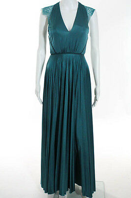 Catherine Deane Green Aqua Elouise Gown Size 2 $1200 10271627