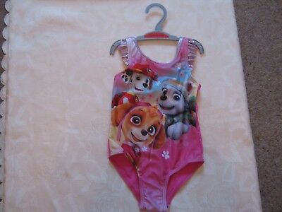 Disney pink swimsuit, Paw Patrol, age 12-18 months, NEW with tags