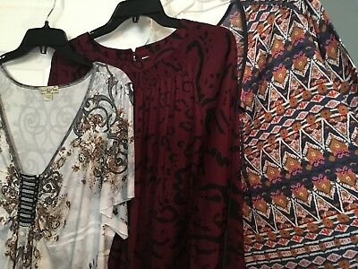 Women S Lot Of Chico S Clothing Tops Shirts Sweaters Coat Size 2 Nwt