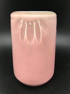 Rookwood Pottery Vase Matte Rose / Green 1931