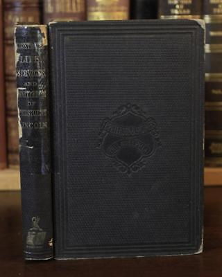 1865 Illustrated Life And Martyrdom Of Abraham Lincoln Assassination Civil War