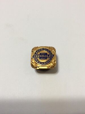 Vintage Chevrolet Approved Mechanic Lapel Pin