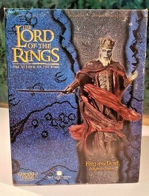 "SIDESHOW COLLECTABLES / WETA Lord Of The Rings ""King Of The Dead"" Statue #2156"