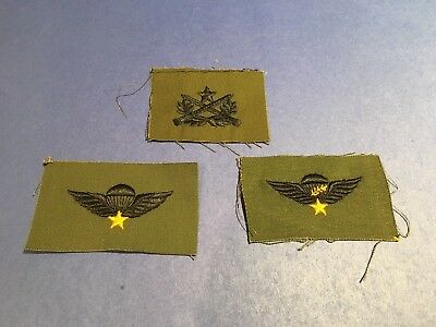 Arvn Vietnam Era Airborne Ranger Patches - Group Of Three