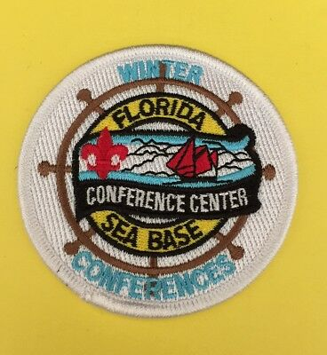 Florida Sea Base Conference Center Winter Conferences patch