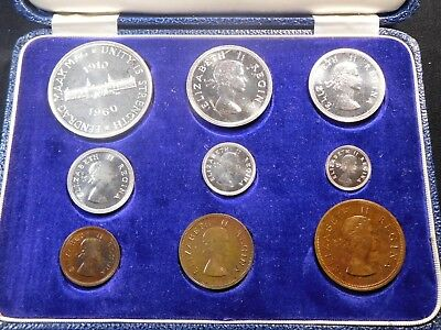 N129 South Africa 1960 Proof Set