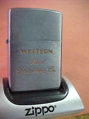 1975 Zippo Lighter – Western Metal Decorating Company