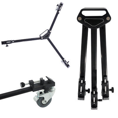 *SALE* Folding Tripod Dolly with Wheels Heavy Duty for Camera Light Stand Studio