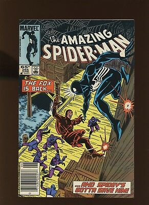 Amazing Spider-Man 265 VF+ 8.5 *1 Book* 1985 Marvel! 1st app Silver Sable!