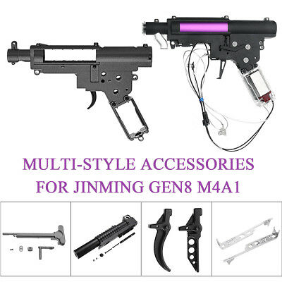 Multi-style Accessories Metal Gearbox For JinMing Gen8 M4A1 Gel Ball Blaster Toy