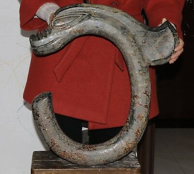 11.2kg/24lb huge Chinese jade carved Hongshan culture style Dragon hook statue
